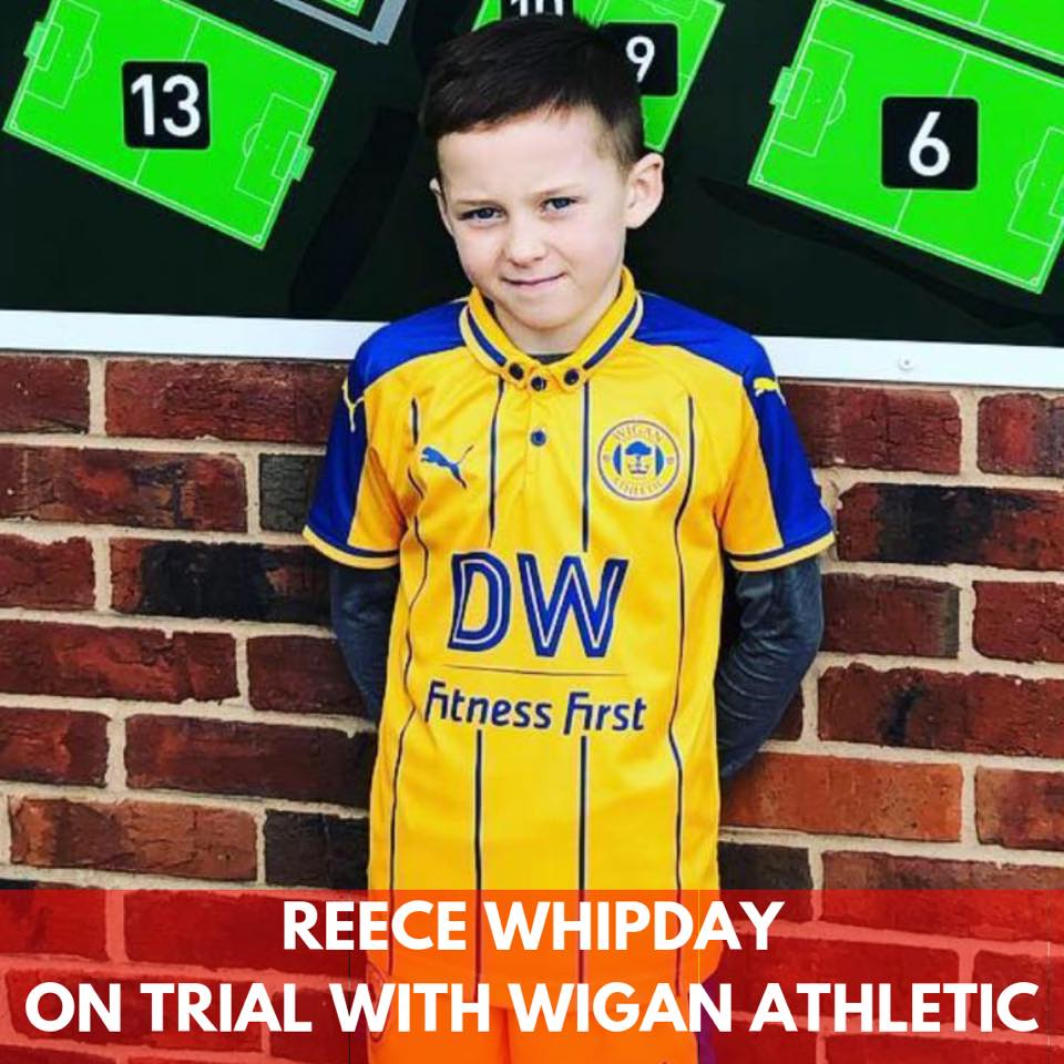 reece whipday wigan pic